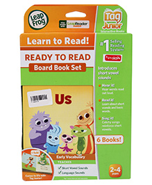 Leap Frog Ready To Read Board Books English - Set of 6