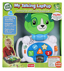 Leap Frog My Talking Lappup Scout - 6 To 24 Months