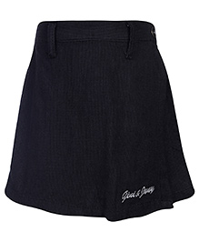 Gini & Jony Short Style Skirt - Steel Grey