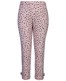 Gini & Jony Full Length Legging Peach - Butterfly