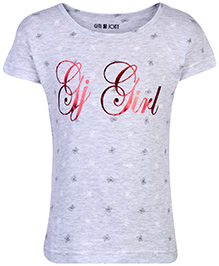 Gini & Jony Knit Top Half Sleeves - Grey