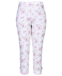 Gini & Jony Full Length Legging White - Floral