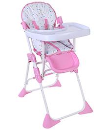 Luv Lap Comfy High Chair Pink - Polka Dots