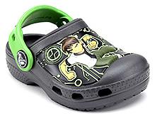 Crocs Clogs Ben 10 Graphic Dark Grey - Back Strap