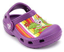 Crocs Clog Dora And Monkey Graphic Purple - Back Strap