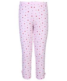 Gini & Jony Full Length Legging Pink - Floral