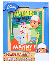 Eichhorn Handy Manny Friends Puzzle - 16 Parts