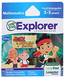 Leap Frog Disney Jake And The Neverland Pirates - Learning Game - 3 to 5 Years