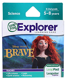 Leap Frog Didney Pixar Brave Learning Game Cartridge