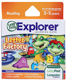 Leap Frog Letter Factory Learning Game DVD
