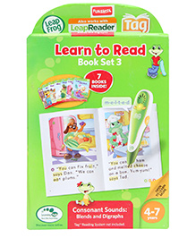 Leap Frog Learn To Read Volume 3 Consonants Tag Book - 7 Books