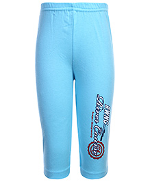 Pink Rabbit Full Length Track Pant - Blue
