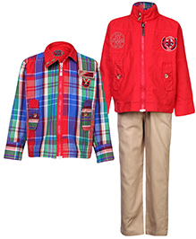 Noddy Reversible Jacket And Trouser Set - Checks Pattern
