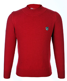 Noddy Full Sleeve Pull Over Sweater - Red