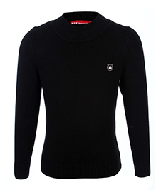 Noddy Full Sleeve Pull Over Sweater - Black