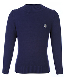 Noddy Full Sleeve Pull Over Sweater - Navy Blue