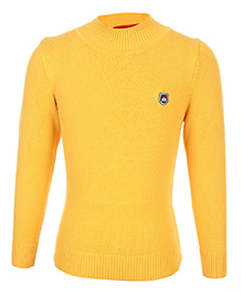 Noddy Full Sleeve Pull Over Sweater - Yellow