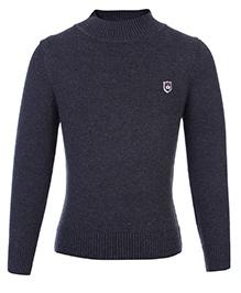 Noddy Full Sleeve Pull Over Sweater - Light Black