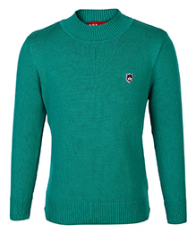 Noddy Sweater Full Sleeves Green - NDY Logo