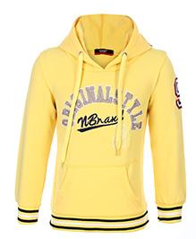 Noddy Hooded Sweatshirt Full Sleeves - Original Style Embroidery