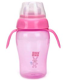 Mee Mee Fancy Twin Handle Sipper Cup Pink - 300 ml