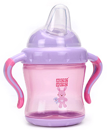 Mee Mee Non Spill Spout Cup Pink - 240 ml