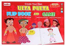 Chhota Bheem DIY Ulta Pulta Flip Book And Game