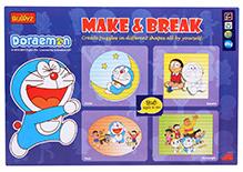 Doraemon DIY Make And Break Puzzle