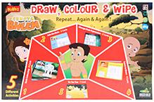 Chhota Bheem DIY Draw Color And Wipe Kit