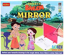 Chhota Bheem DIY Mirror Drawing