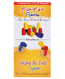 Buddyz Fun Fair Game - 2 Games in 1