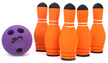 Safsof Mini Bowling Pin Set