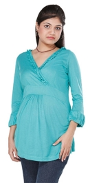 Morph Maternity Evening Top - Green