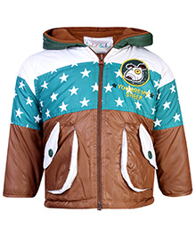 Peridot Jacket Hooded Full Sleeves - Star Theme