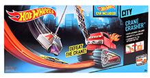 Hotwheels City Crane Crasher Playset