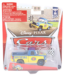 Disney Pixar Cars Piston Cup Print - Blue And Yellow