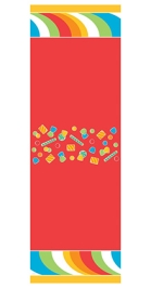 Wanna Party Sugar Candy Table Cover