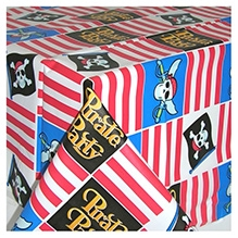 Pirate Party Plastic Table Cover -
