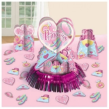 Wanna Party Table Princess Decoration Kit