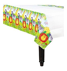 Wanna Party Paper Table Cover Jungle Animal -