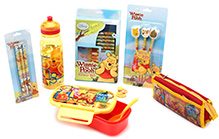 Disney Winnie The Pooh Theme School Kit - Set Of 7