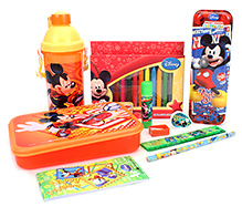 Disney Mickey Mouse Club House School Kit - Pack Of 5