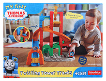 Fisher Price My First Thomas & Friends Twisting Tower Track