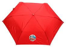 Disney Pixar Cars Kids Umbrella With Carry Case - Red