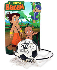 Prasima Toys Basketball and Net Hoop - Chhota Bheem Archer Theme