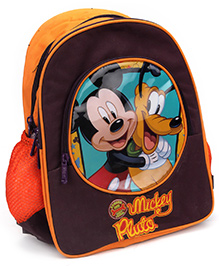 Mickey Mouse And Friends School Bag - 14 Inches