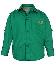 Little Kangaroos Full Sleeve Shirt - Solid Color
