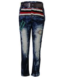 Noddy Jeans With Belt - Standard Patch