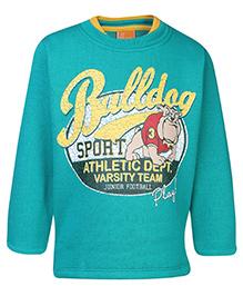 Little Kangaroos Full Sleeve Sweatshirt - Bulldog Print