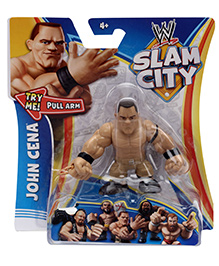 WWE Slam City Figure John Cena - Height 6.5 cm